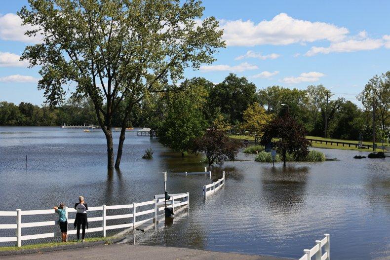 Jersey flood