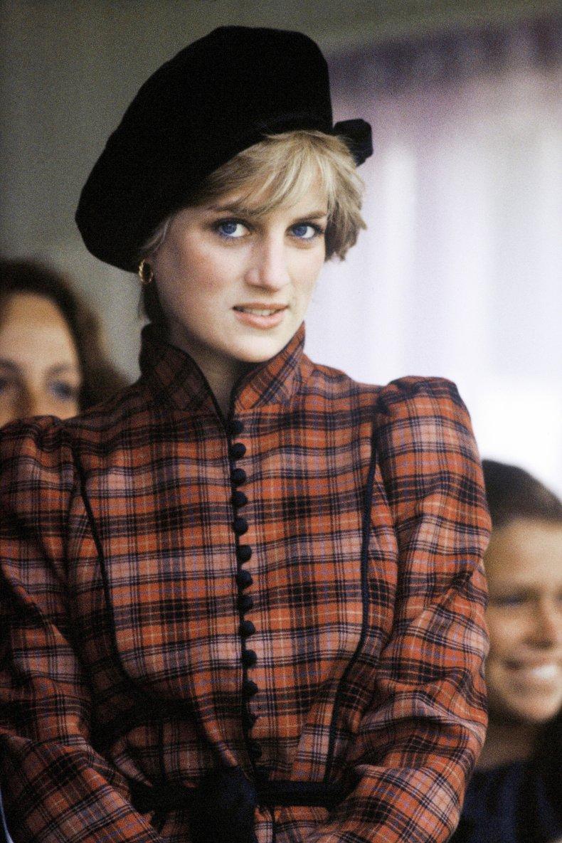 Princess Diana's Tartan Look