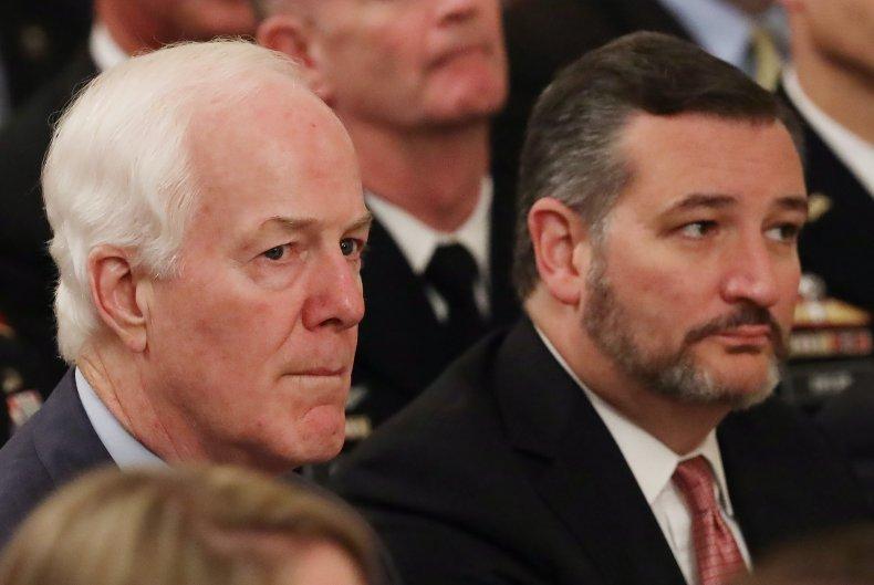 Cornyn Cruz silent Texas abortion law Twitter
