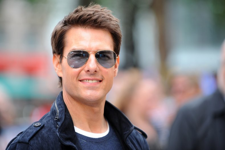 Tom Cruise at Rock of Ages premiere