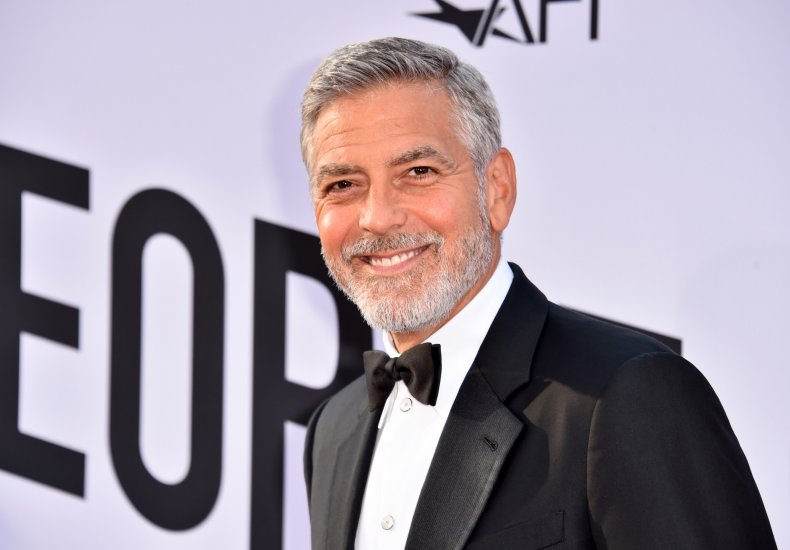 George Clooney at AFI gala