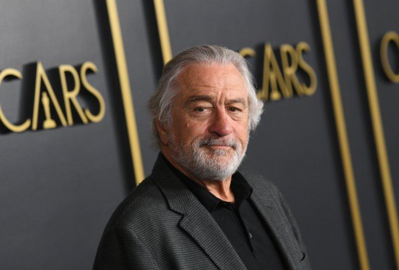 Robert De Niro at Oscars luncheon