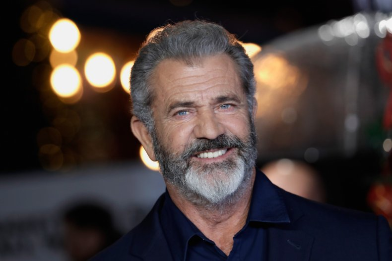 Mel Gibson at Daddy's Home 2 premiere