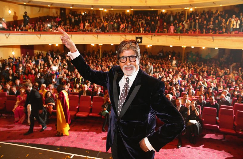Amitabh Bachchan at IFFM Awards