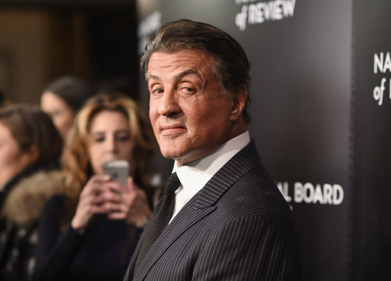 Sylvester Stallone at Board of Review gala