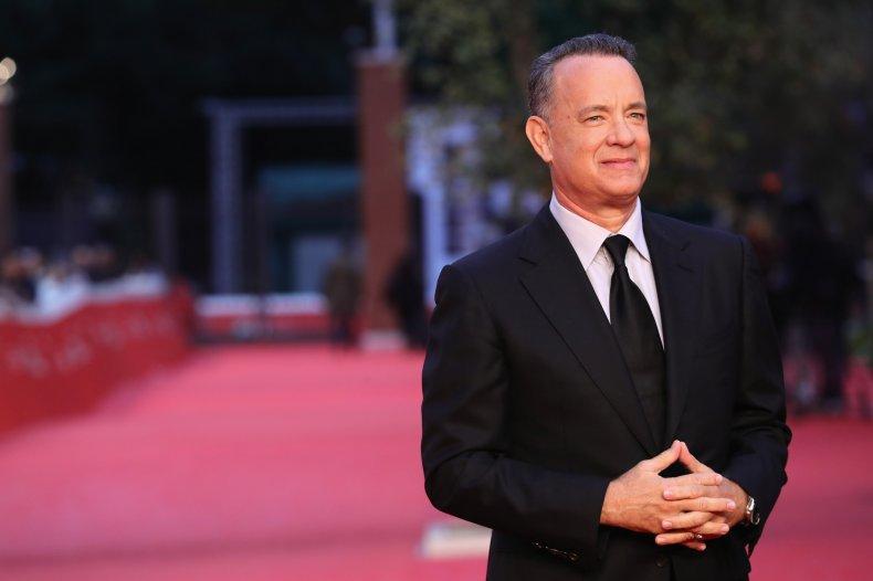 Tom Hanks at Rome Film Festival