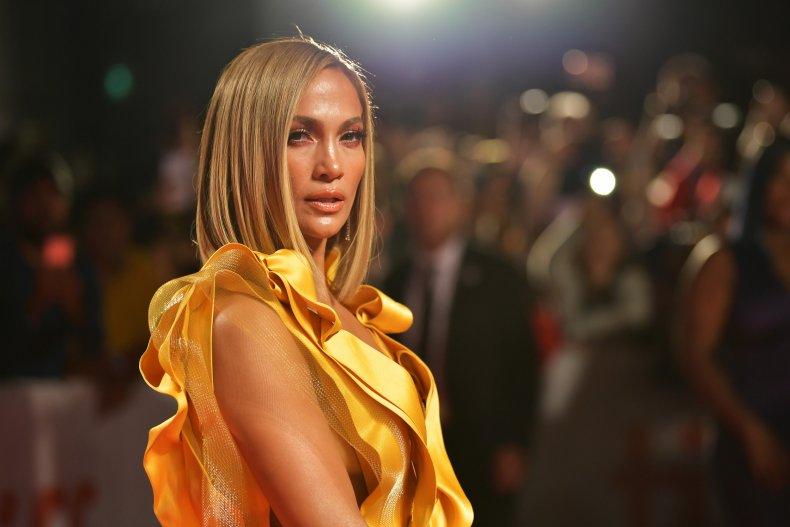 Jennifer Lopez at Hustlers premiere
