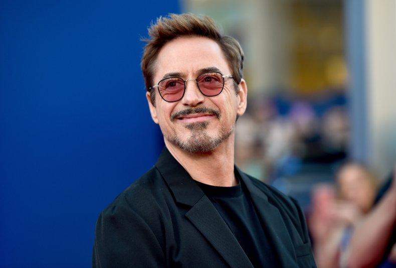 Robert Downey Jr at Spider-Man Homecoming premiere