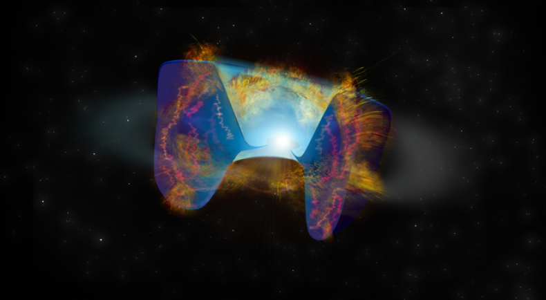 Debris Escapes From a Merger Triggered Supernova