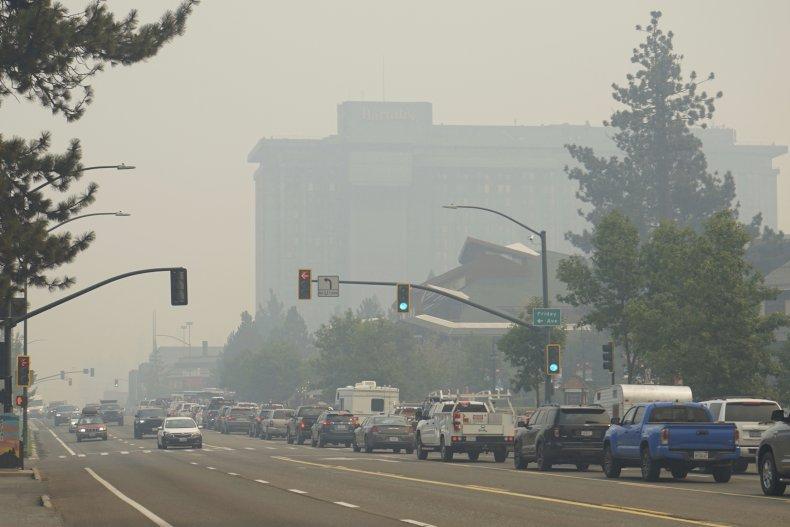 Lake Tahoe Evacuates