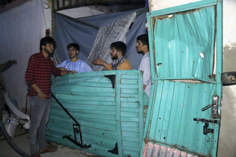 Ahmadi Home Destruction