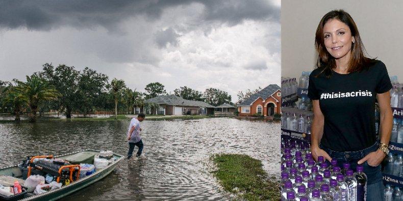 bethenny frankel hurricane ida relief