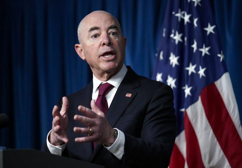 DHS Secretary Alejandro Mayorkas