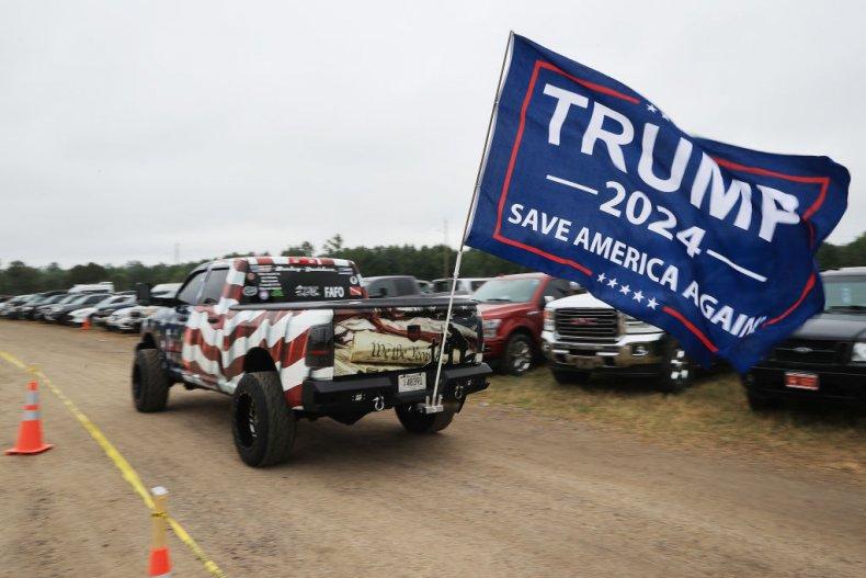 Trump 2024 banner