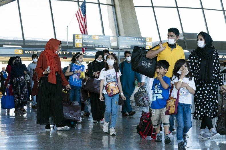 Afghanistan Evacuees Arrive in U.S.