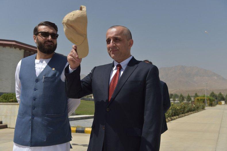 Afghan, Vice, President, Amrullah, Saleh