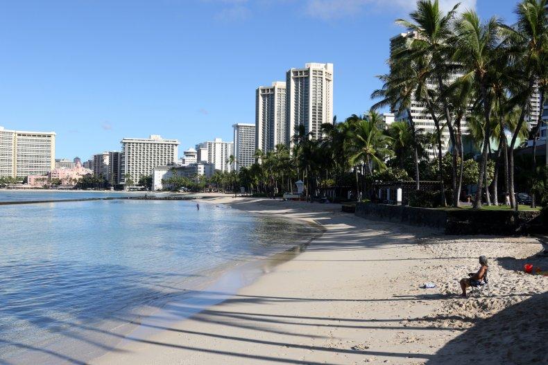 Hawaii Before Economy Reopened