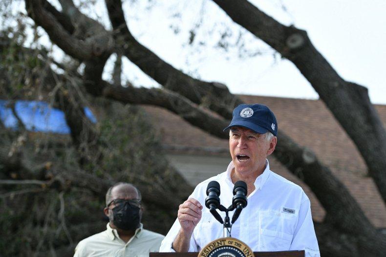 Joe Biden Louisiana Hurricane Ida insurance companies