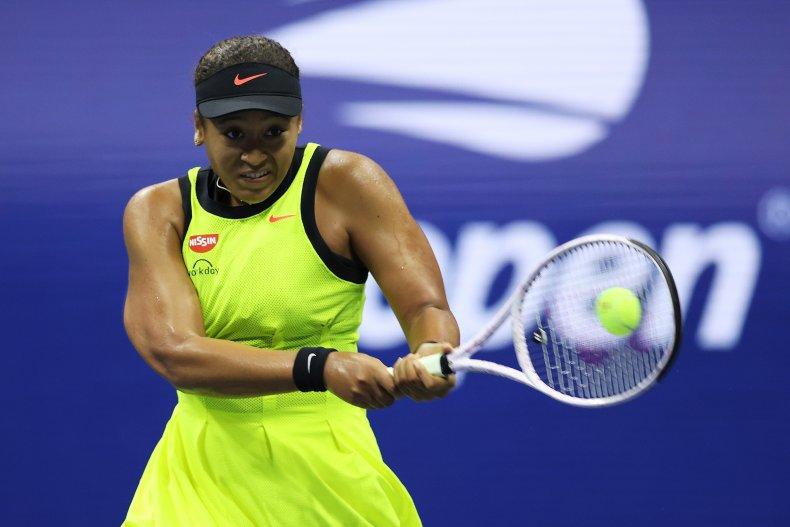 Naomi Osaka Competes at the U.S. Open