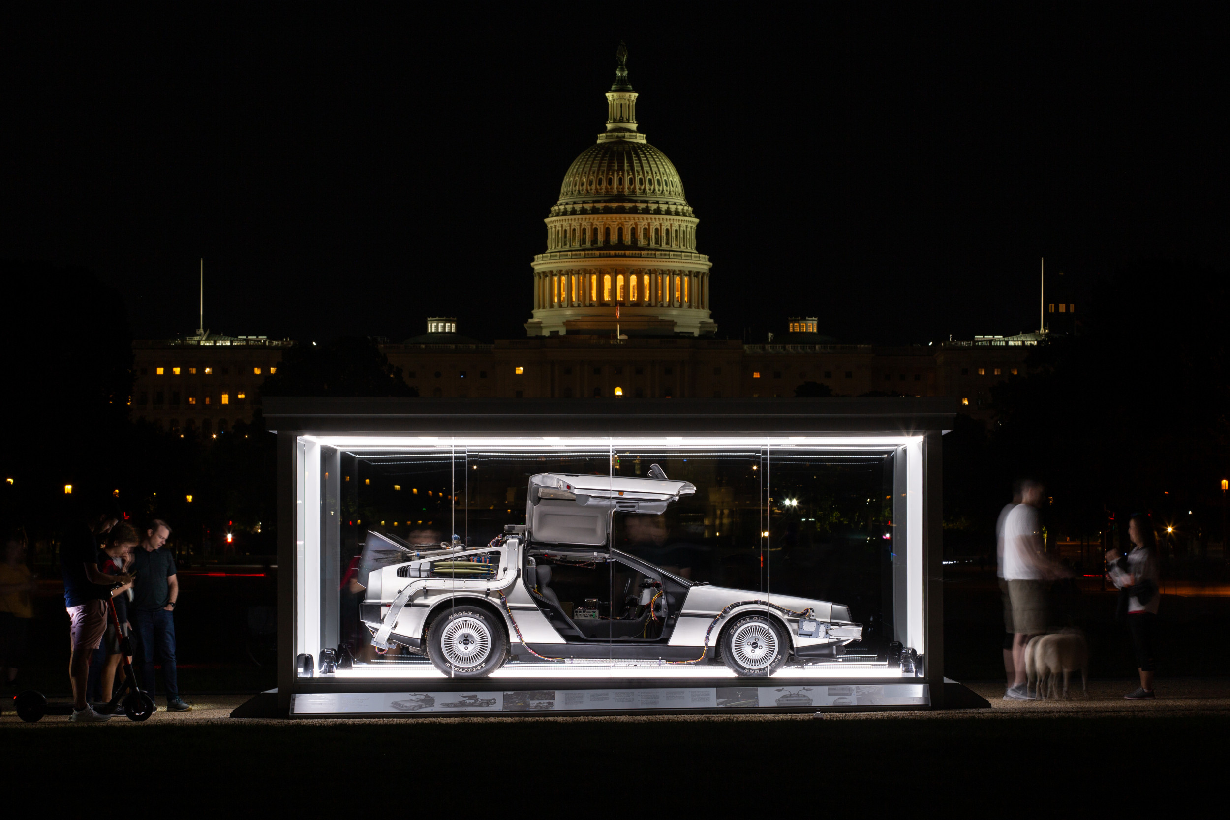 Hagerty Drivers Foundation DeLorean Washington DC