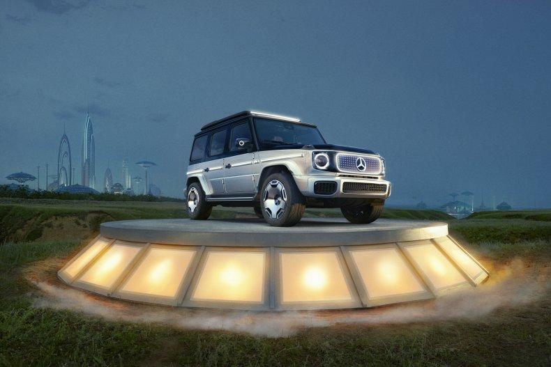 Mercdes-Benz EQG Concept