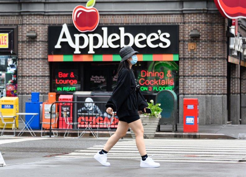 Applebee's restaurant Times Square