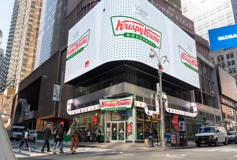 Krispy Kreme Times Square