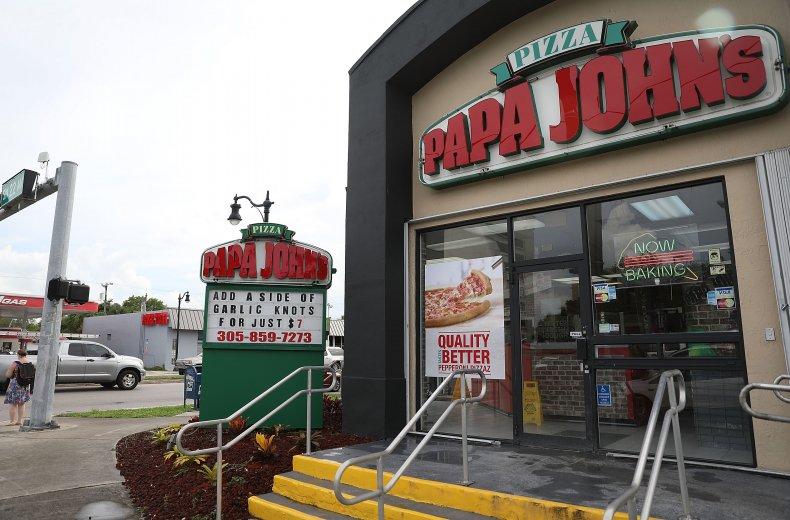 Papa John's Pizza in Miami, Florida