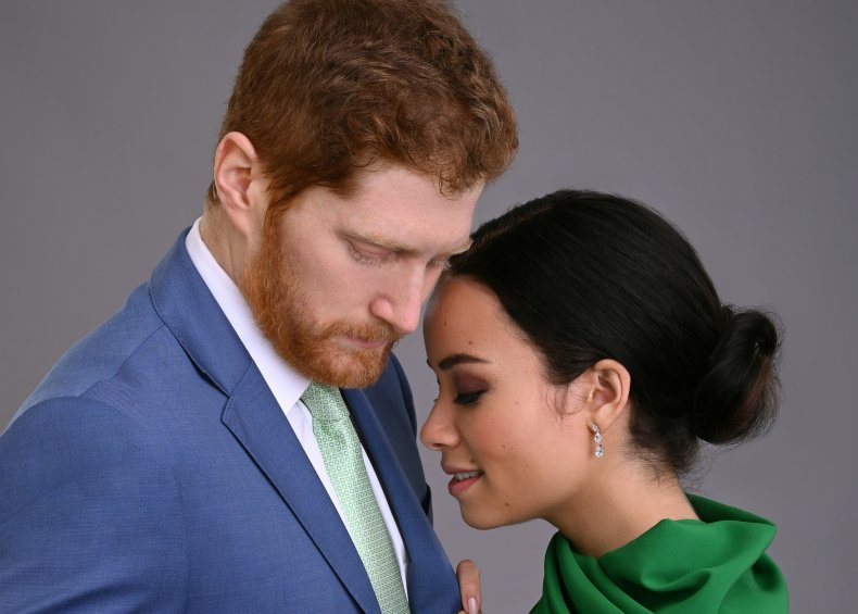 Prince Harry and Meghan Markle in Lifetime