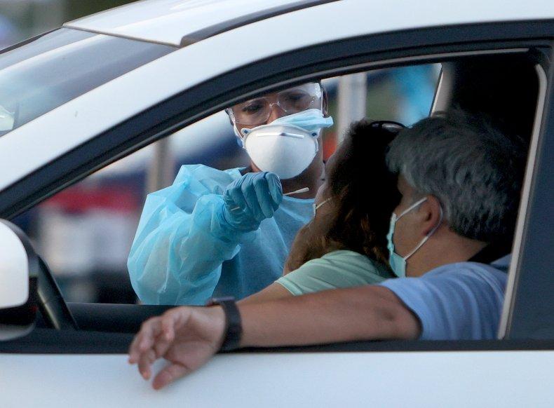 Coronavirus testing in Miami, Florida