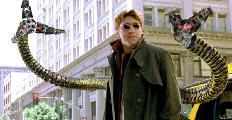 Alfred Molina in Spider-Man 2