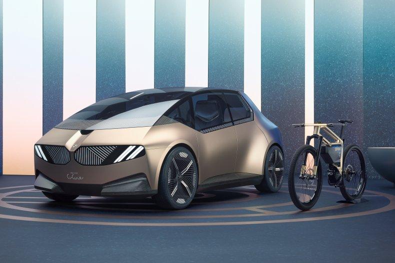 BMW I Vision Circular Concept Car