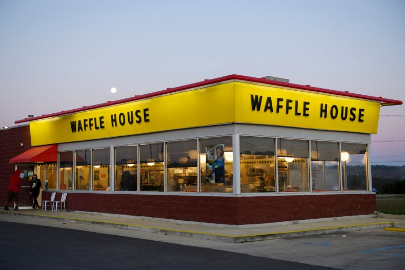 A branch of Waffle House.