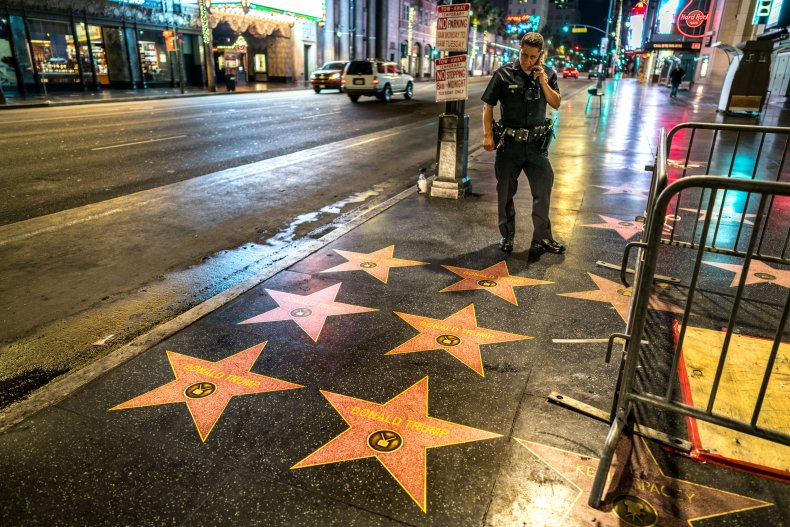 Trump Stars Walk of Fame