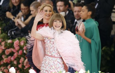 Anna Wintour attends the 2019 Met Gala