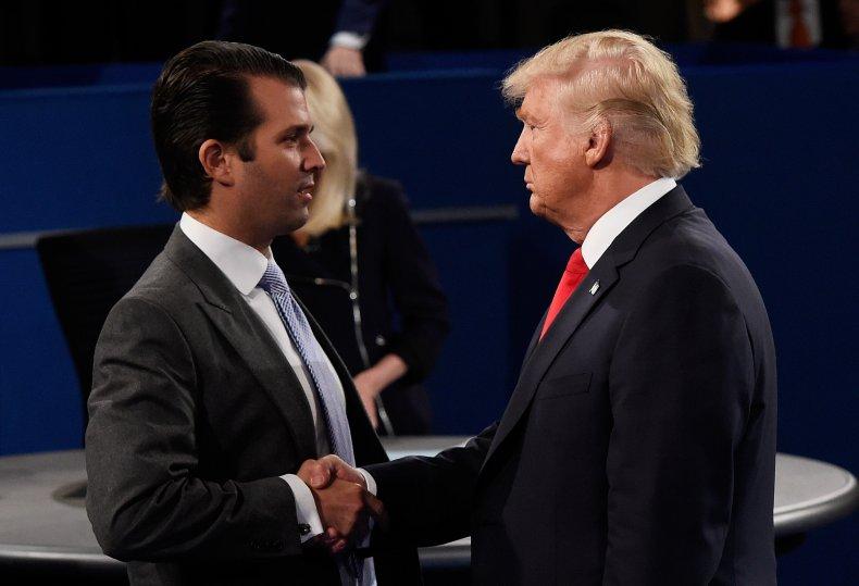 Donald Trump Jr. and Trump