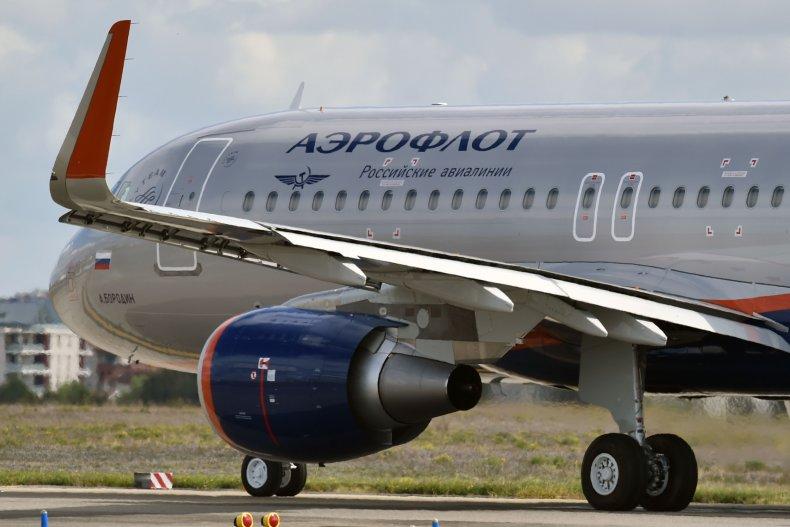 Aeroflot Airbus 320