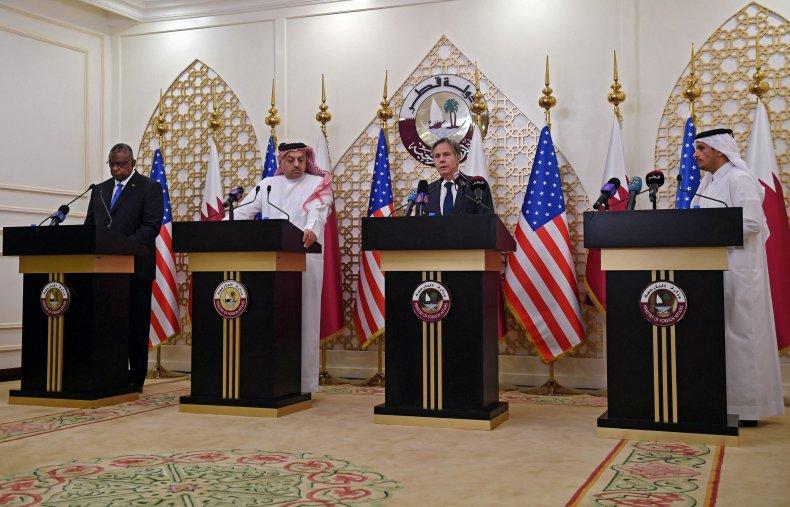Blinken Speaks with Qatar Leaders