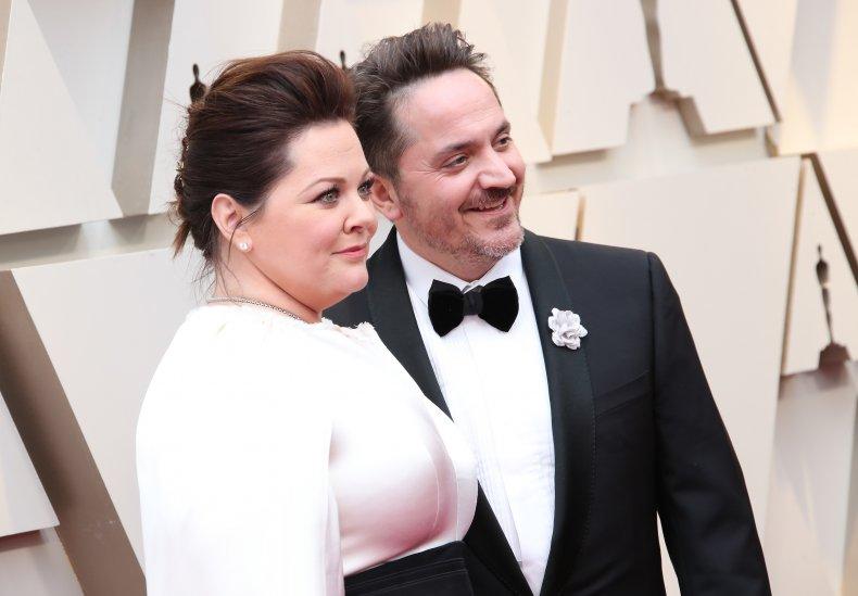 Melissa McCarthy and Ben Falcone Oscars
