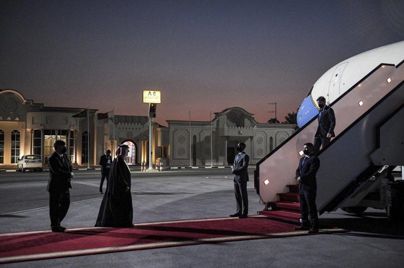 Antony Blinken in Qatar