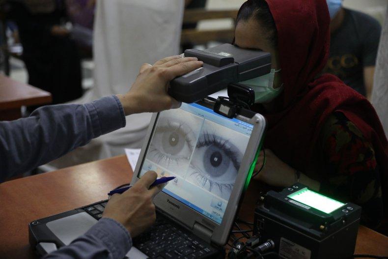 Afghanistan Biometrics Data