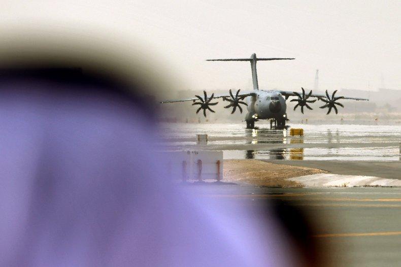 Dubai, airport, Afghan, evacuation