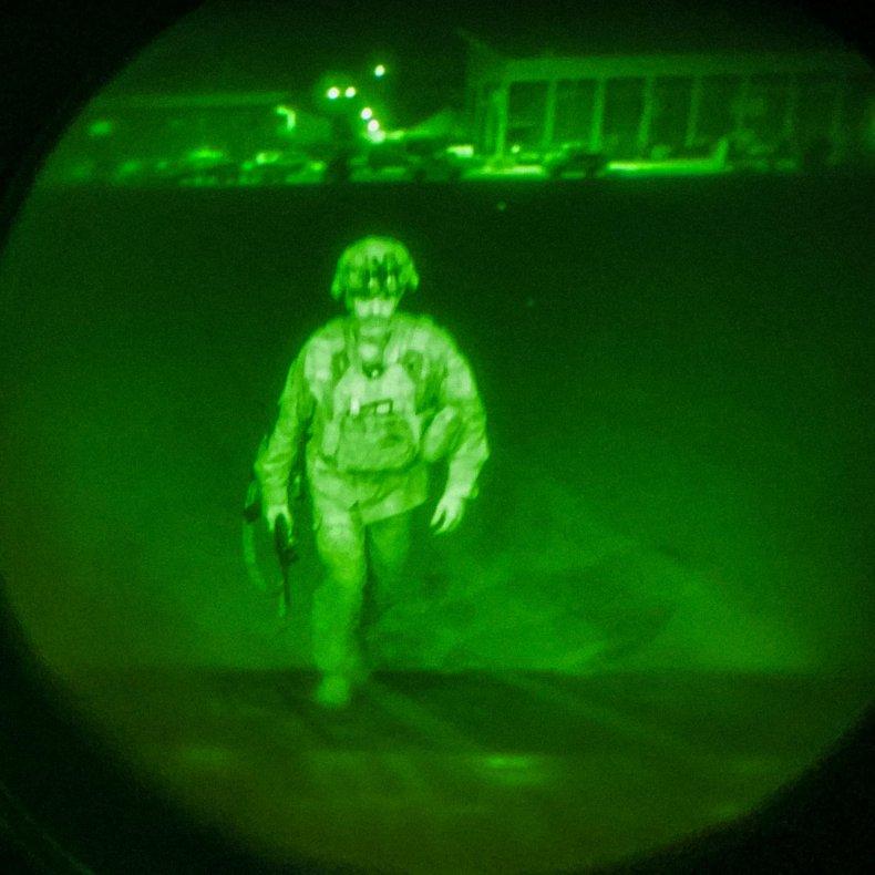 US, Major, General, Donahue, last, soldier, Afghanistan
