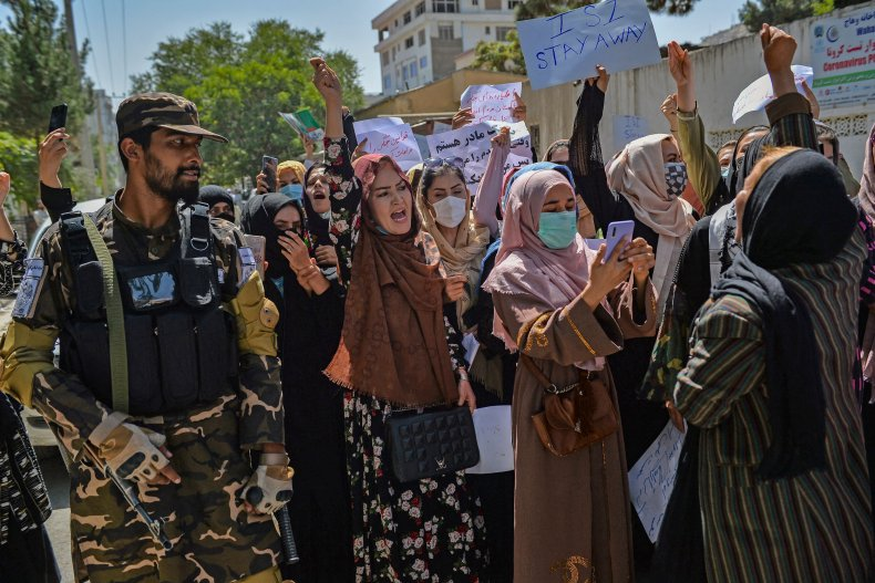 Protests in Kabul