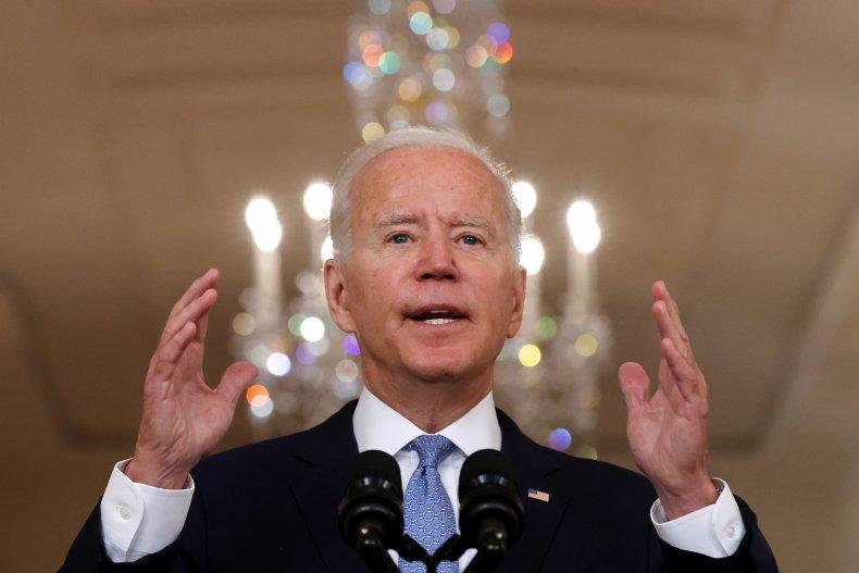 President Joe Biden Addresses Nation On Afghanistan
