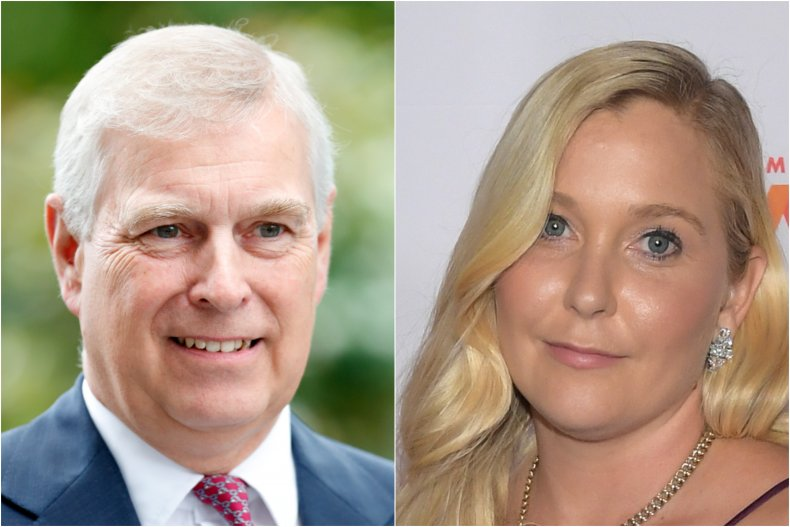 Prince Andrew and Virginia Giuffre