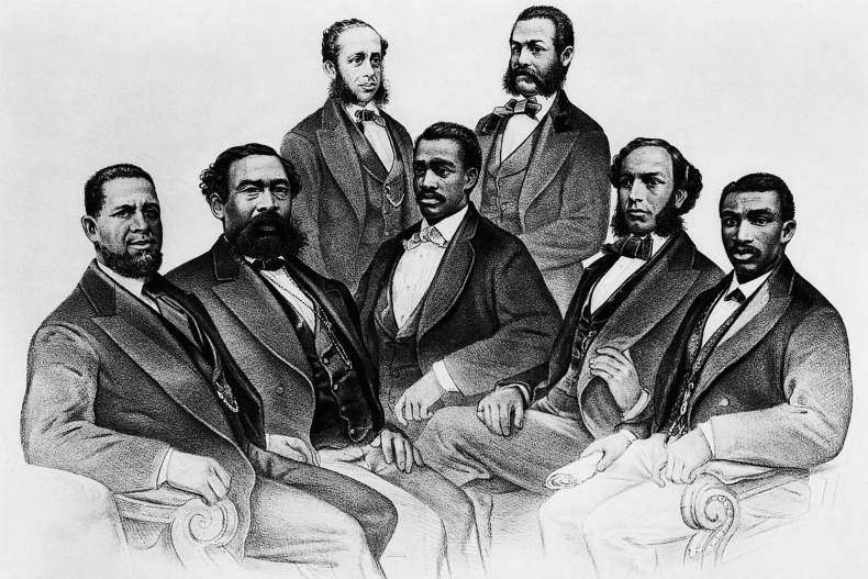 the first Black members of Congress
