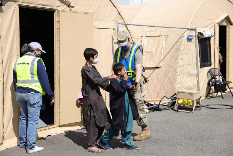 Afghan Evacuees Arrive in Germany