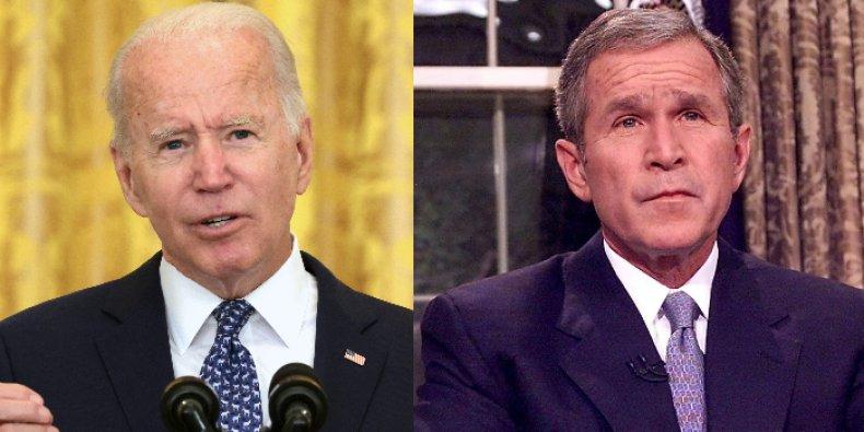 joe biden approval george bush 9/11 poll