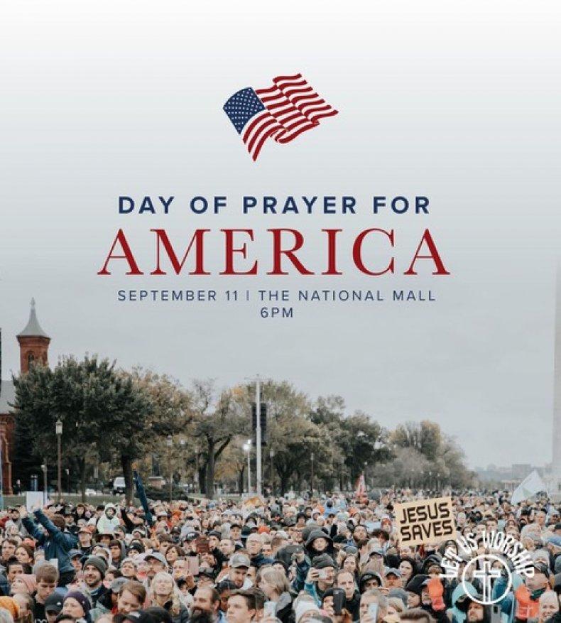 Day of Prayer Rally